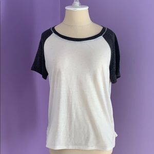 Urban Outfitters baseball style tee.